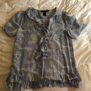 Marc by Marc Jacobs Paisley Print Blouse